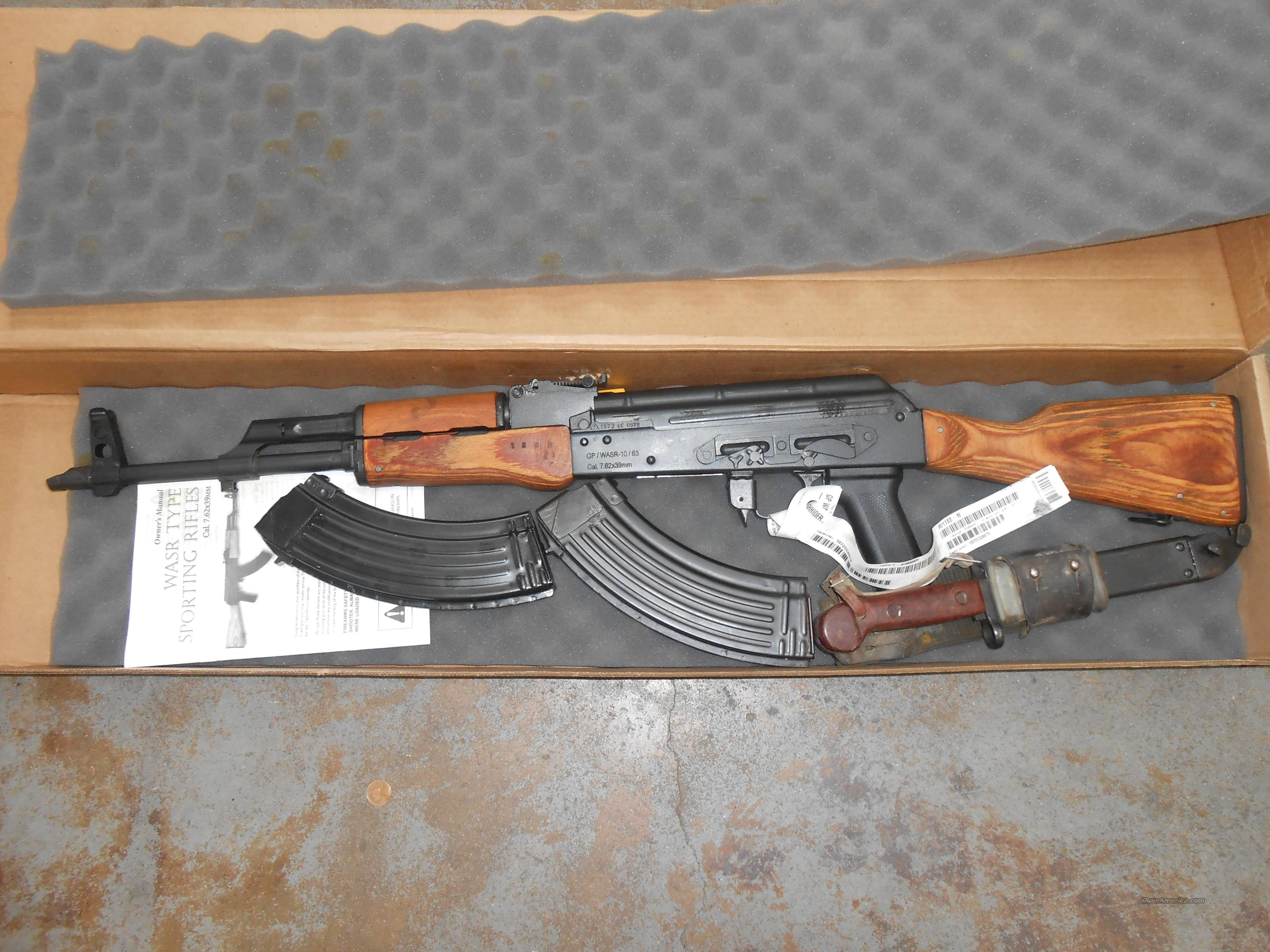 CENTURY AK-47 PREBAN 7.62X39  Guns > Rifles > Century International Arms - Rifles > Rifles