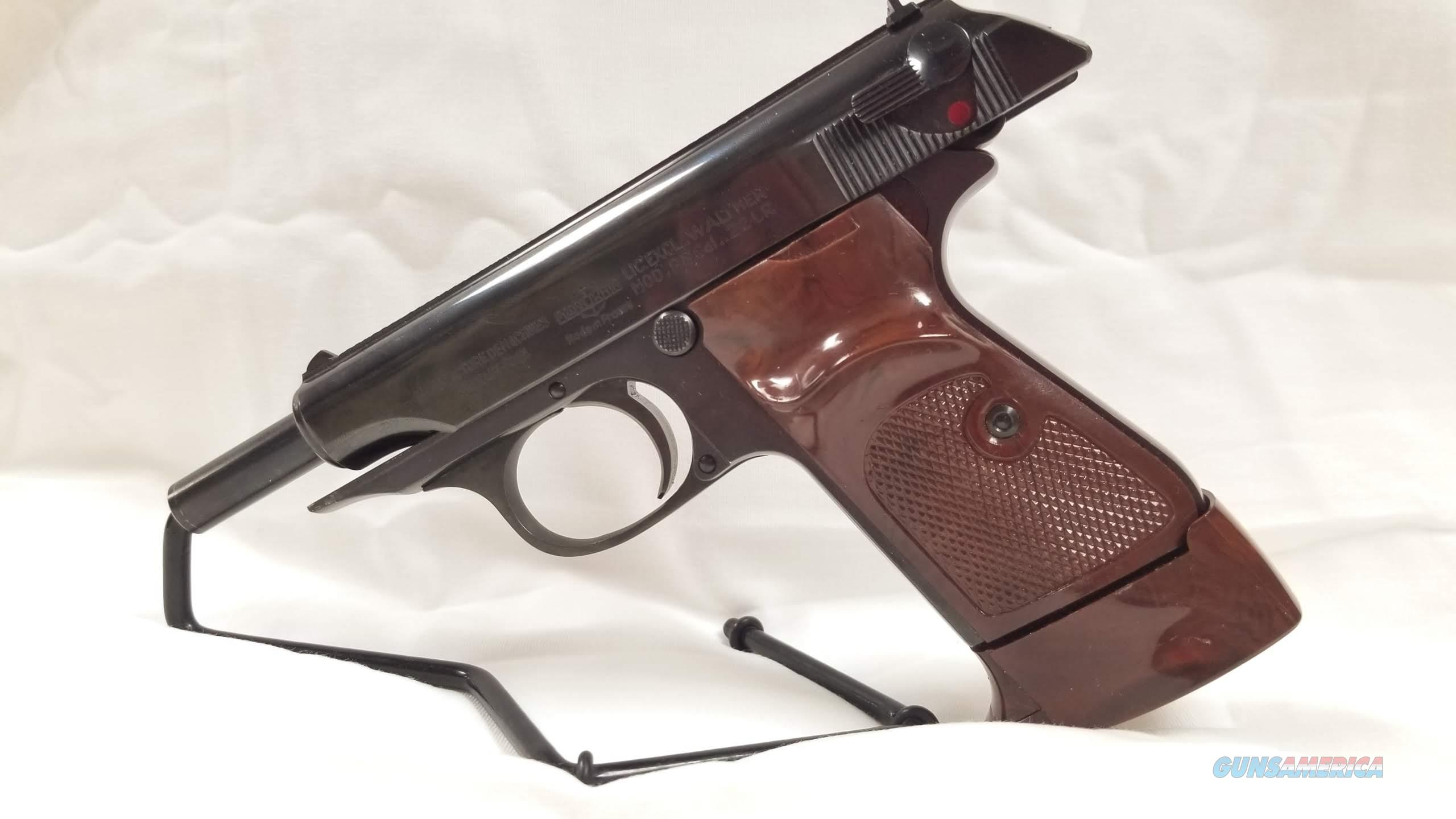 Manurhin Walther PP 22LR  Guns > Pistols > Walther Pistols > Post WWII > Target Pistols