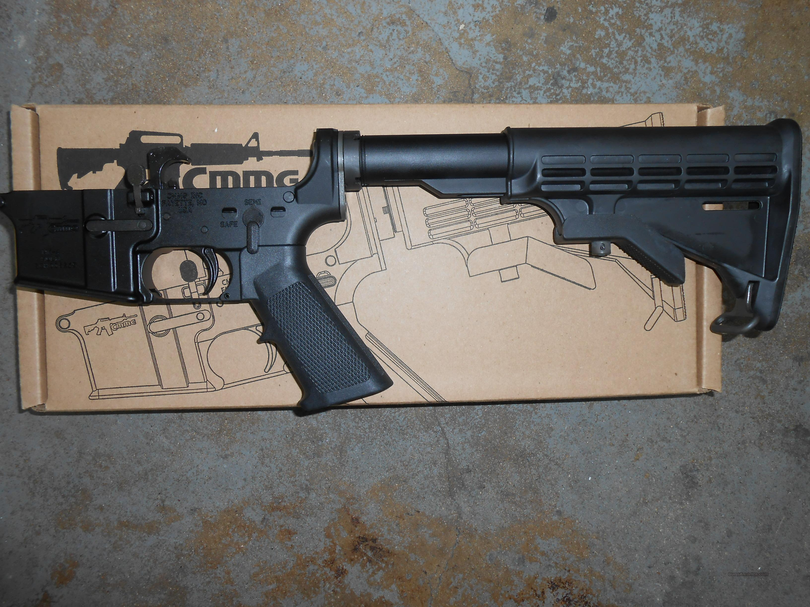 CMMG COMPLETE LOWER  Guns > Rifles > AR-15 Rifles - Small Manufacturers > Lower Only
