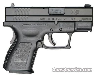 SPRINGFIELD ARMORY XD SUB-COMPACT 40 SW  Guns > Pistols > Springfield Armory Pistols > XD (eXtreme Duty)