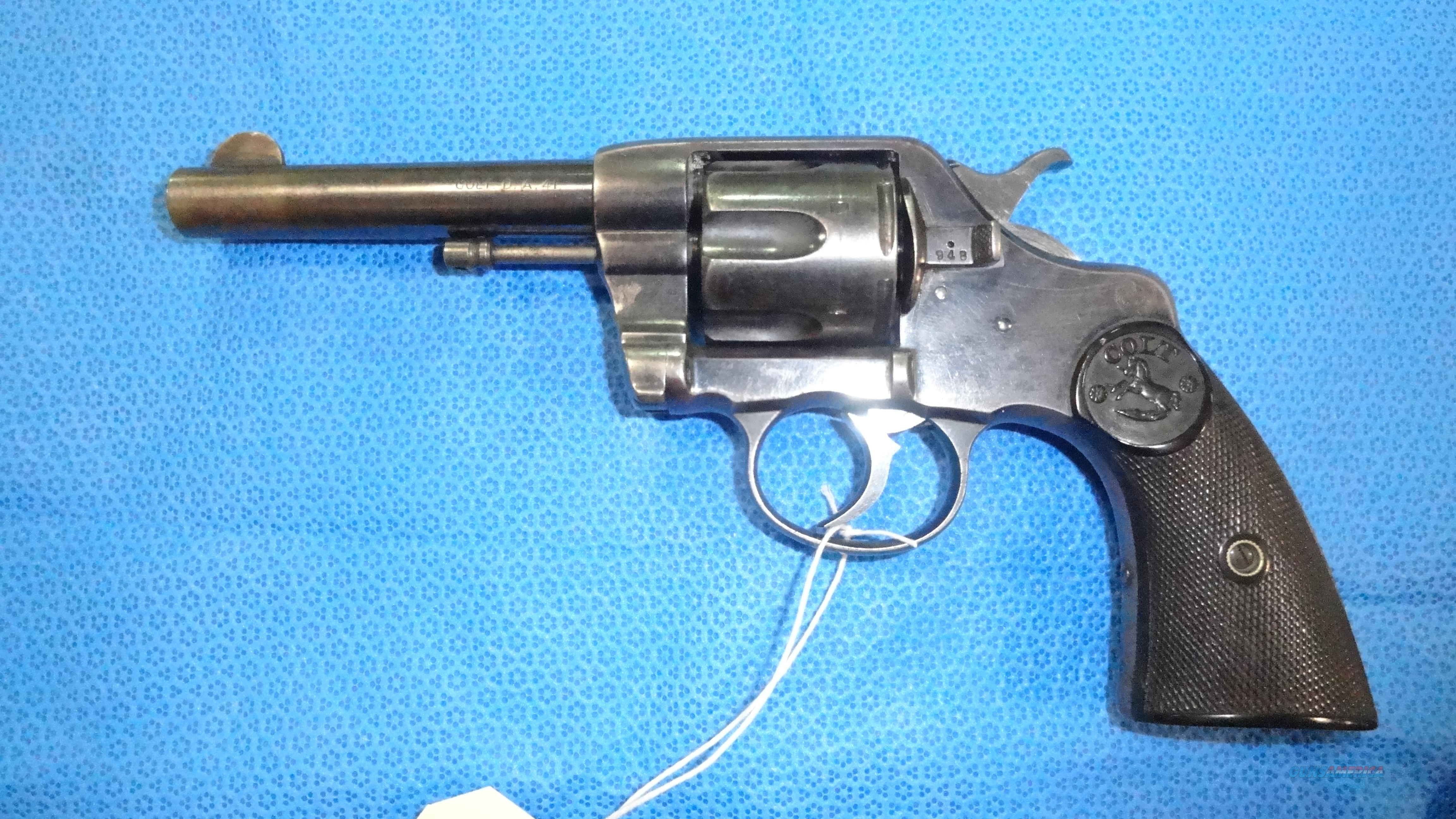 Colt New Army Revolver 1892 .41 cal