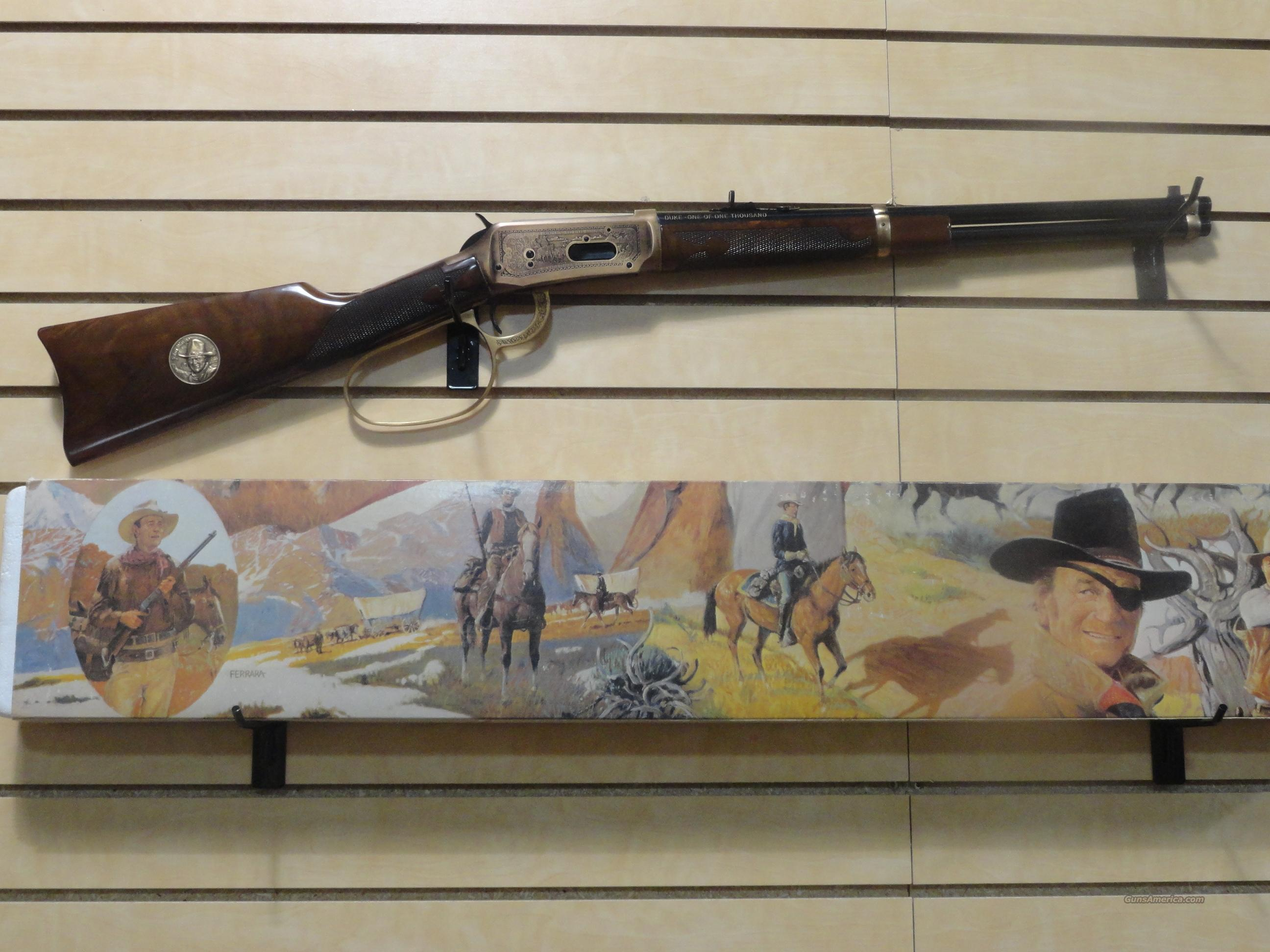 Winchester 94 John Wayne 1 of 1000 .32-40   Guns > Rifles > Winchester Rifle Commemoratives