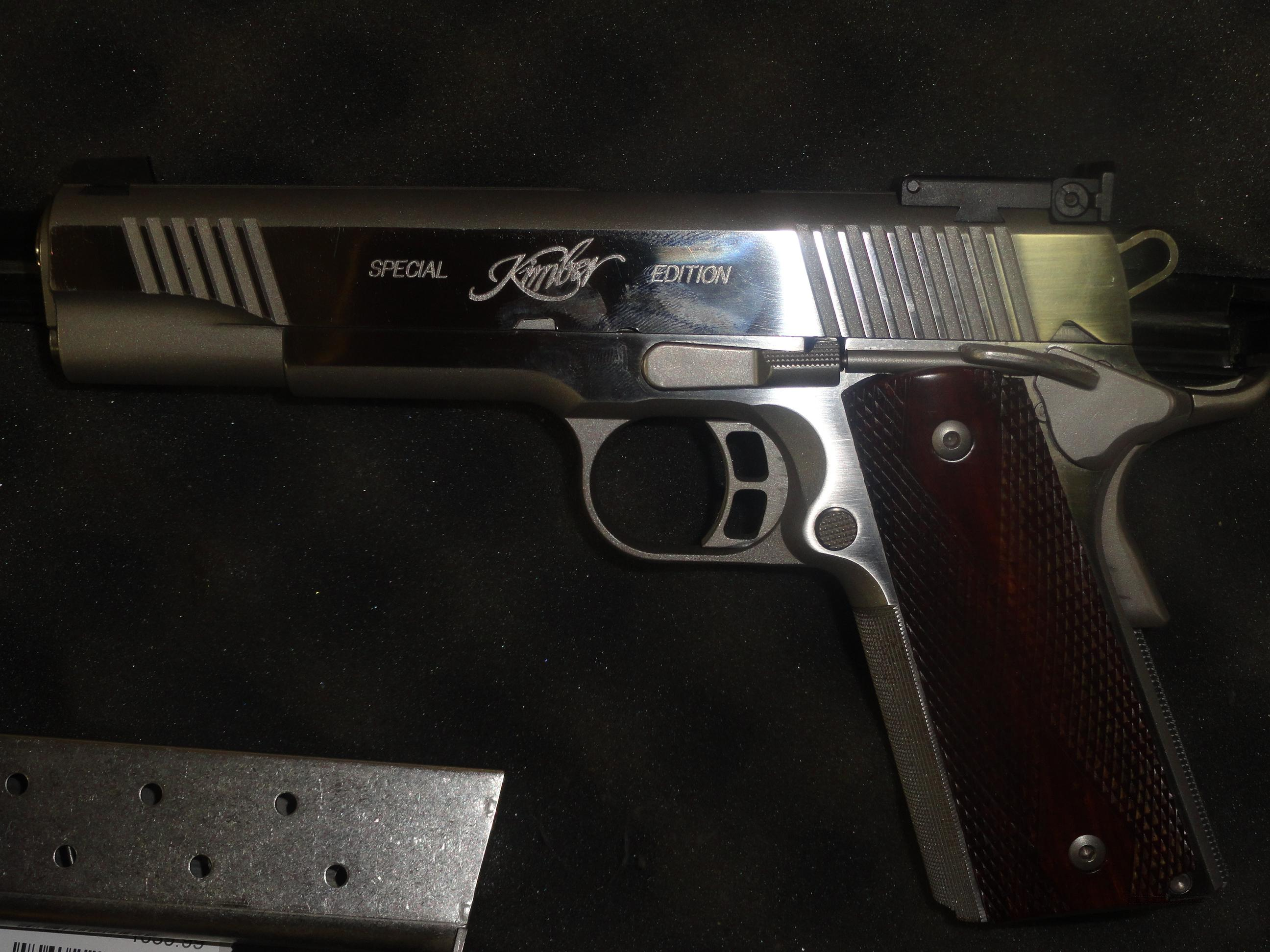 Kimber Special Edition Gold Match Stainless Steel .45    Guns > Pistols > Kimber of America Pistols