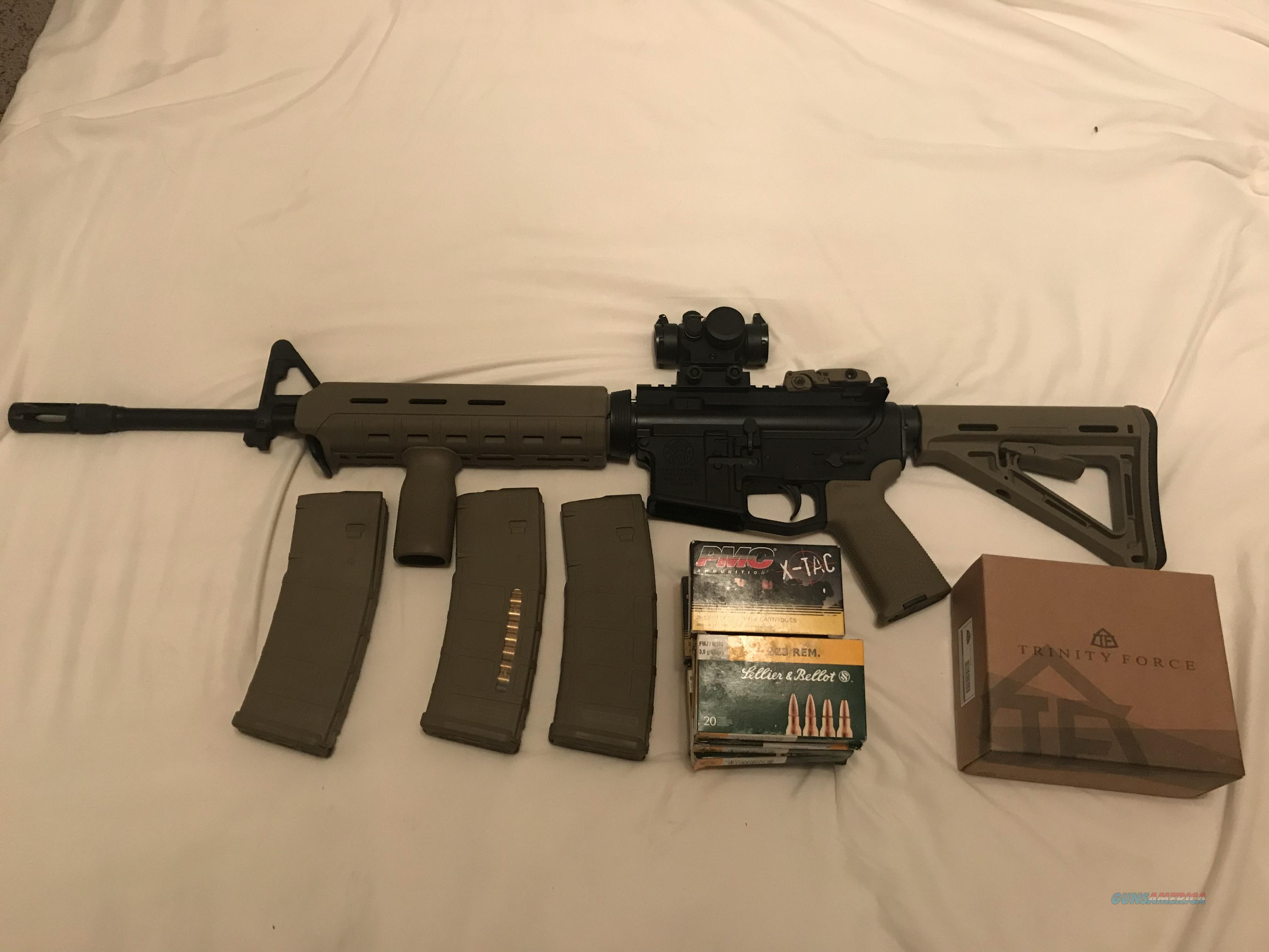 Smith and Wesson M&P AR15 MOE  Guns > Rifles > Smith & Wesson Rifles > M&P