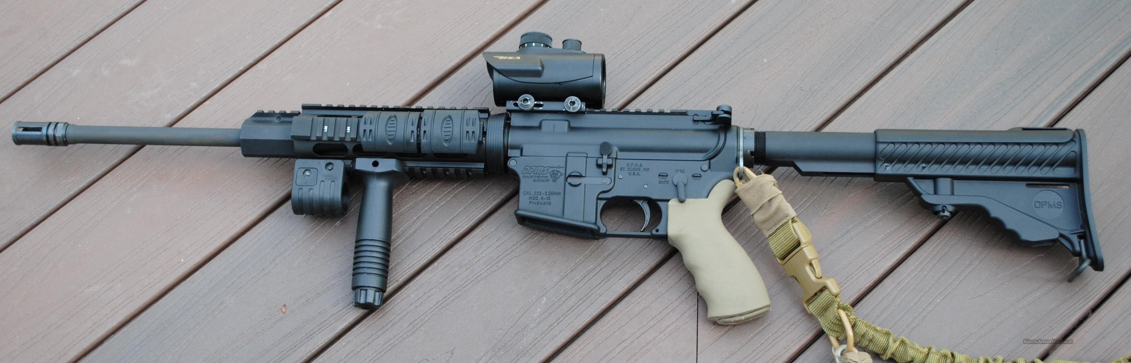 AR - 15 with accessories on rifle  Guns > Rifles > AR-15 Rifles - Small Manufacturers > Complete Rifle