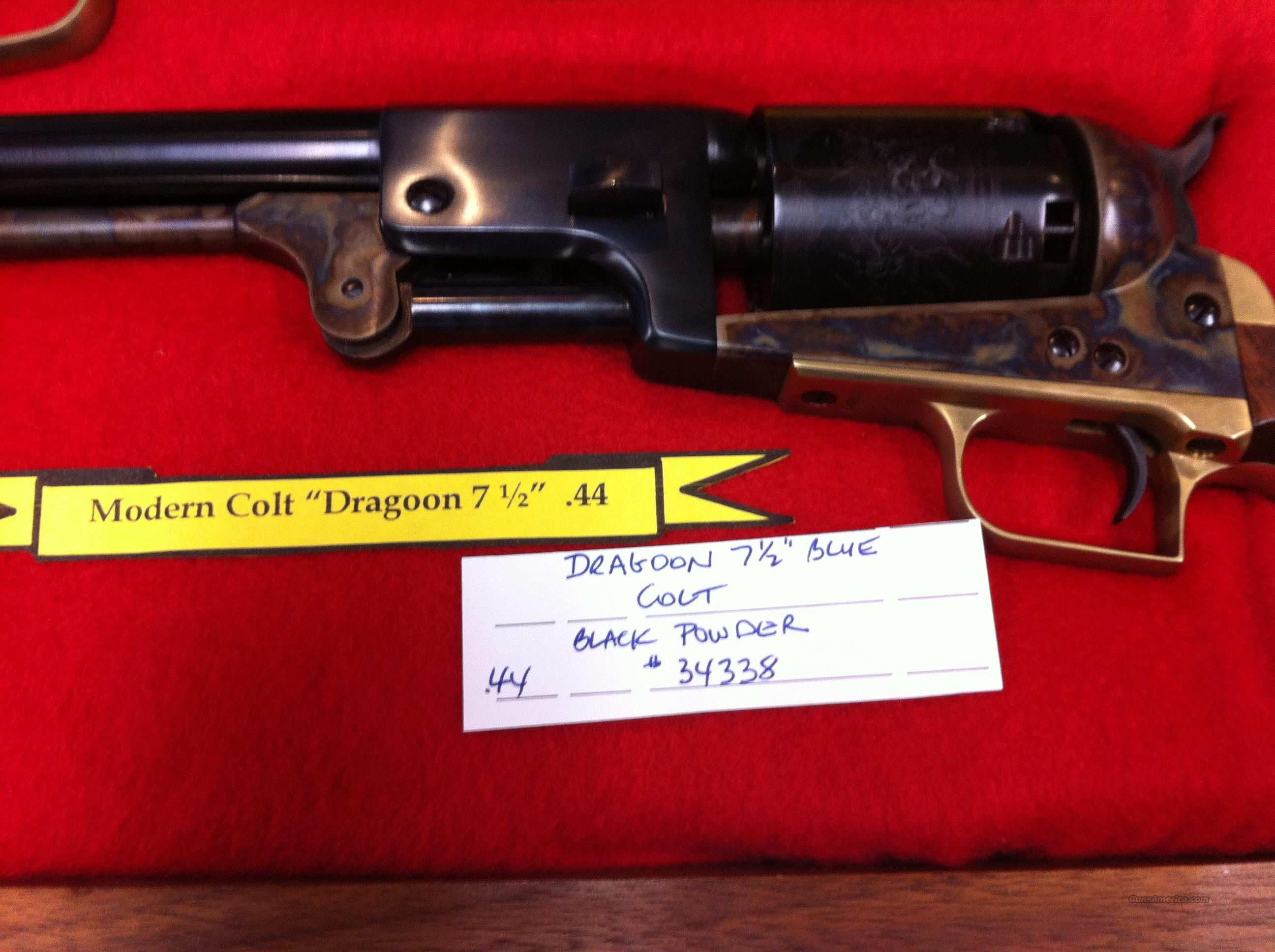 Colt 2ND MODEL DRAGOON  Non-Guns > Black Powder Cartridge