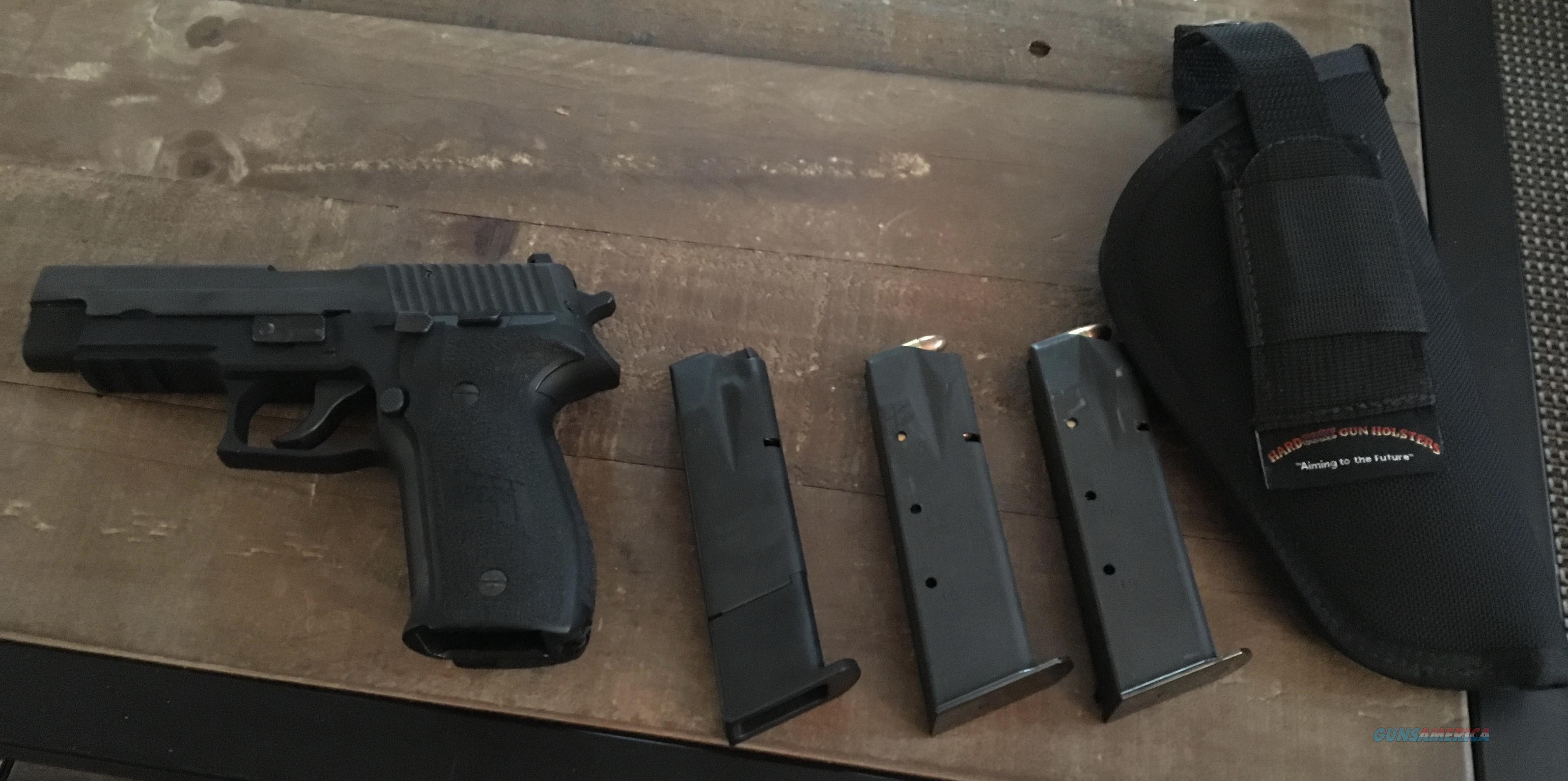 Sig Sauer P226 9mm automatic with 3 magazines and a holster  Guns > Pistols > Sig - Sauer/Sigarms Pistols > Other