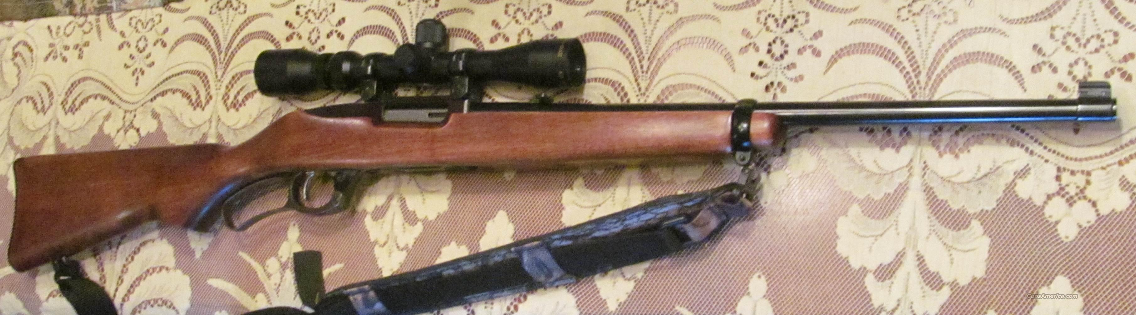 Ruger 96 44 Mag Lever Action Rifle w/ Scope Pristine  Guns > Rifles > Ruger Rifles > Lever Action