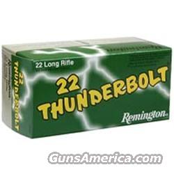 Remington Thunderbolt .22 Bullets  Non-Guns > Ammunition