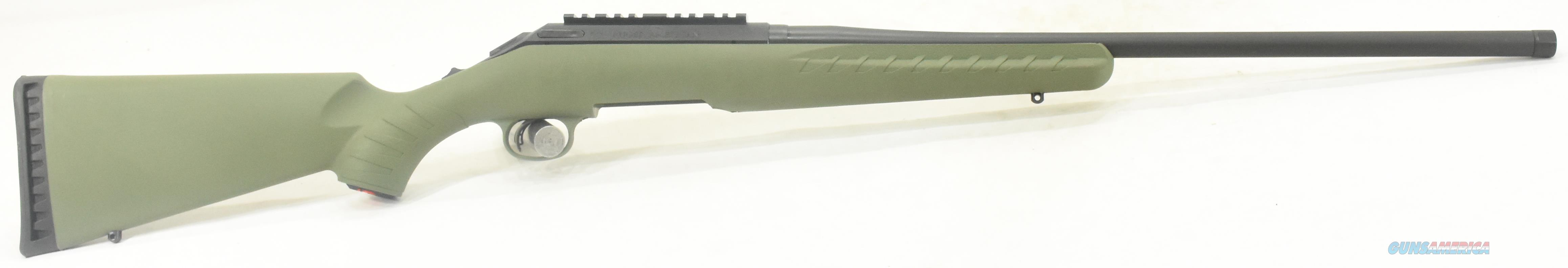 American Predator Green LH 243Win 22In 26916  Guns > Rifles > Ruger Rifles > American Rifle