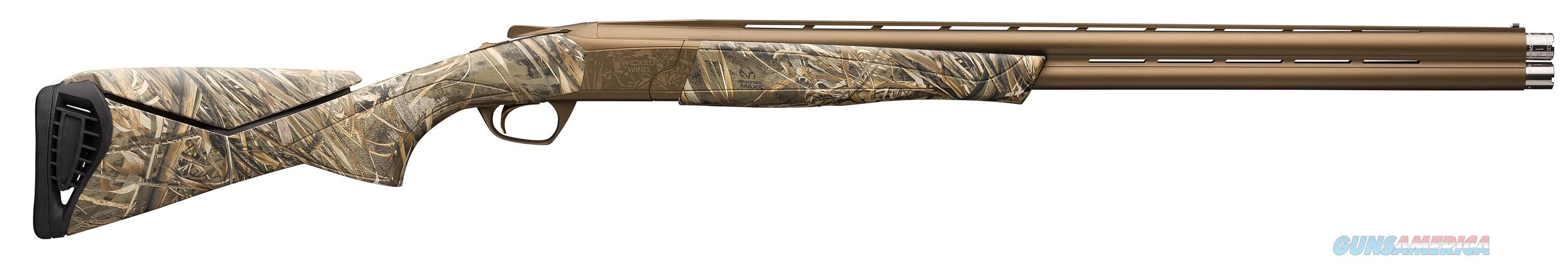 Cynergy Wicked Wing Max5 12Ga 30-3.5In 018717203  Guns > Shotguns > Browning Shotguns > Over Unders > Cynergy > Hunting