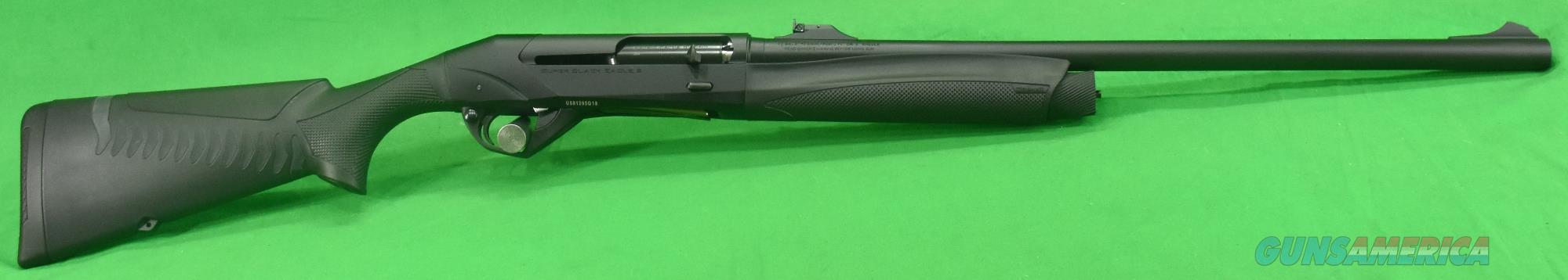 10379 Benelli Super Black Eagle 3 Rifled Slug All Black 12 Ga 24-3In  Guns > Shotguns > Benelli Shotguns > Sporting