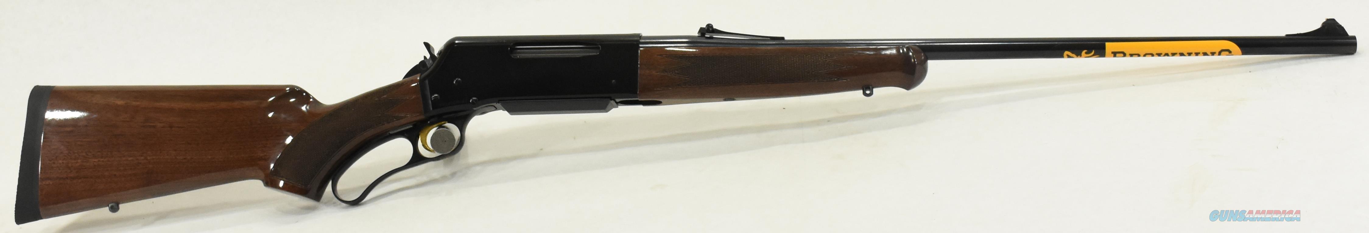 BLR LTWT Walnut PG 300Win 24In  034009129  Guns > Rifles > Browning Rifles > Semi Auto > Hunting