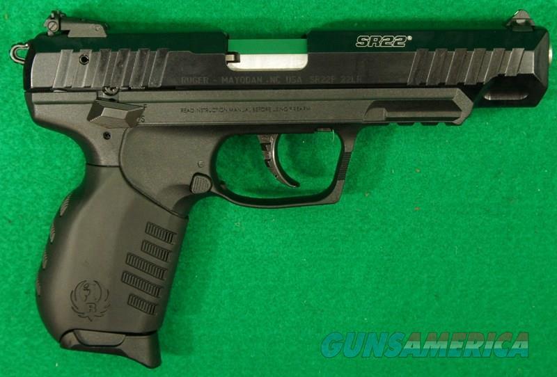 SR22 Black 22LR 4.5In  3620   Guns > Pistols > S Misc Pistols
