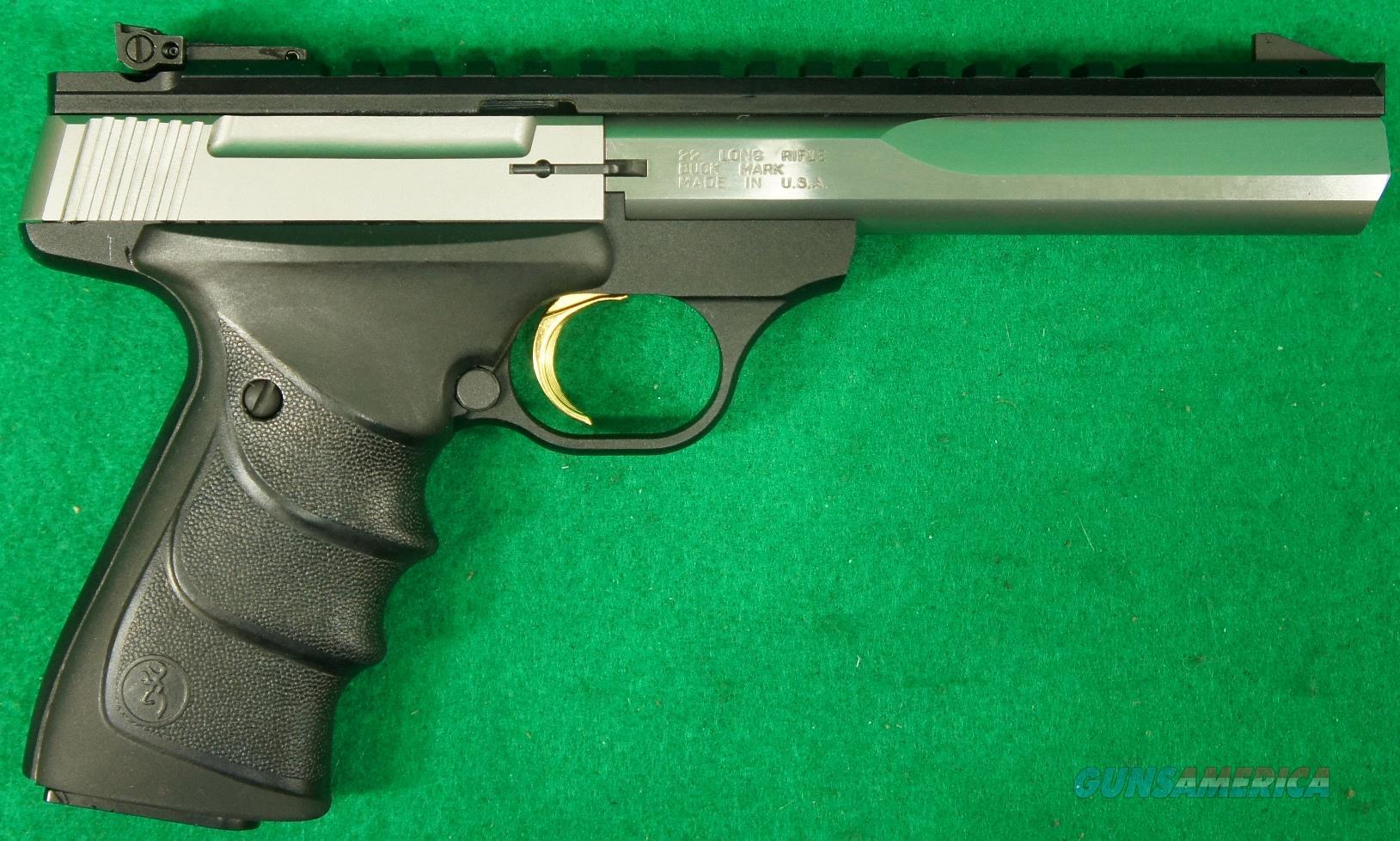 Buck Mark Contour SS URX 22LR 5.5In 051507490  Guns > Pistols > Browning Pistols > Buckmark