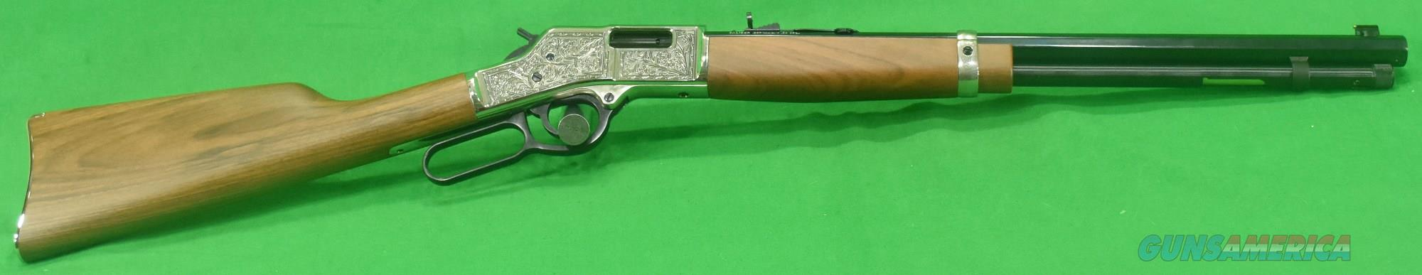 Big Boy Silver Dlx Engrv 357Mag 20In  H006MSD  Guns > Rifles > Henry Rifles - Replica