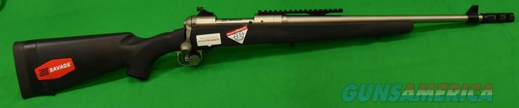 11 Scout Black Syn SS 308Win 18In  19470  Guns > Rifles > Savage Rifles > 11/111