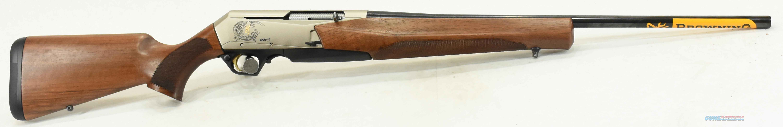BAR Mark III Nickel Walnut 300Win 22In  031047229  Guns > Rifles > Browning Rifles > Semi Auto > Hunting