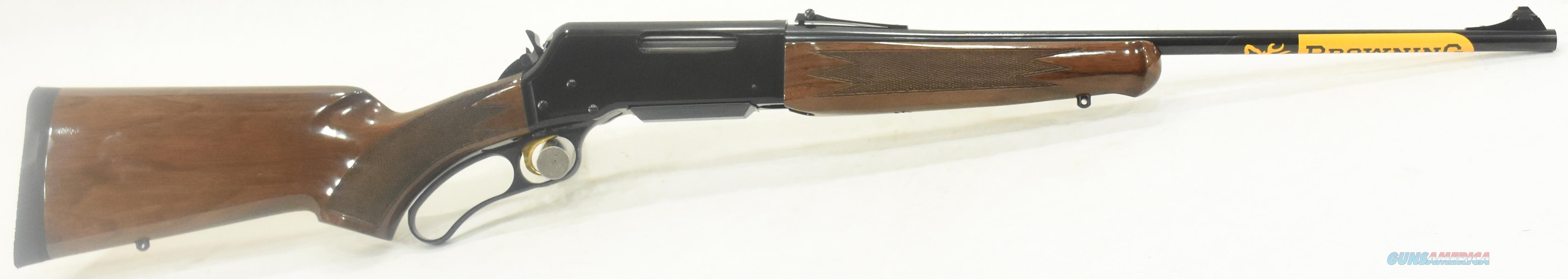BLR LTWT Walnut PG 308Win 20In  034009118  Guns > Rifles > Browning Rifles > Semi Auto > Hunting