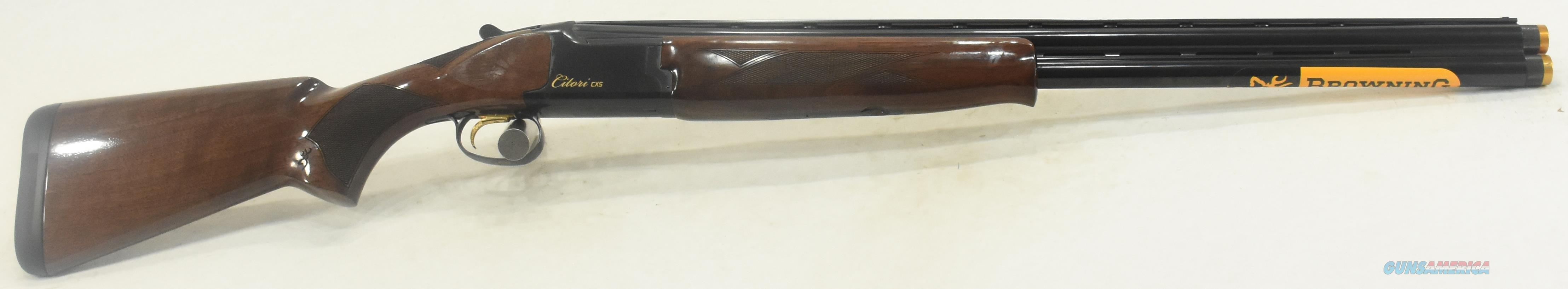 Citori CXS Micro Walnut 12Ga 26-3In 018140305  Guns > Shotguns > Browning Shotguns > Over Unders > Citori > Hunting
