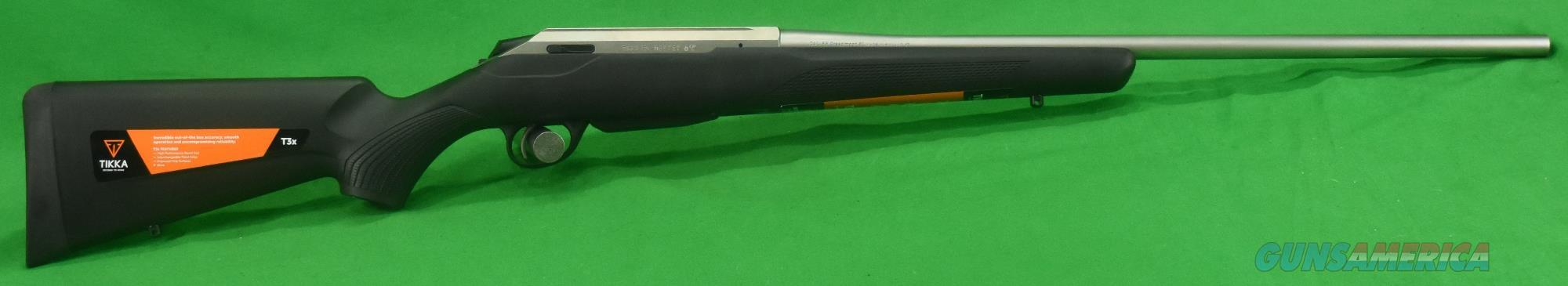 T3x Lite Stainless LH 6.5CM 24.3In JRTXB482  Guns > Rifles > Tikka Rifles > T3