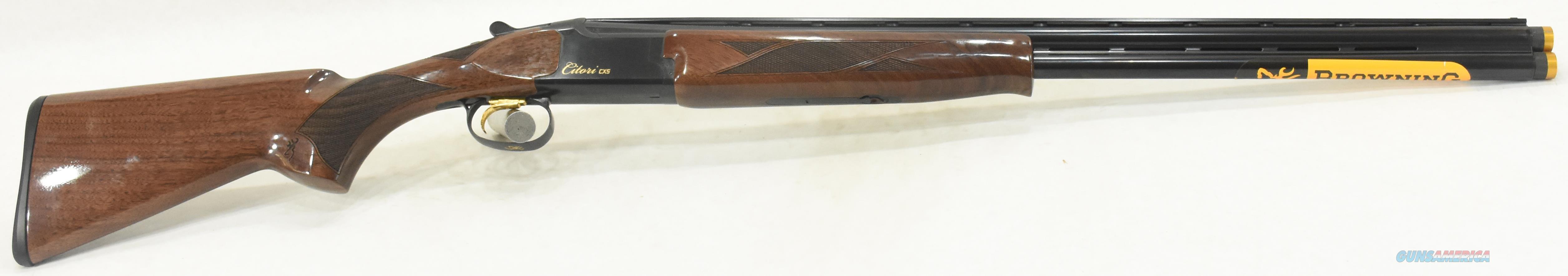Citori CXS Micro Walnut 20Ga 26-3In 018140605  Guns > Shotguns > Browning Shotguns > Over Unders > Citori > Hunting