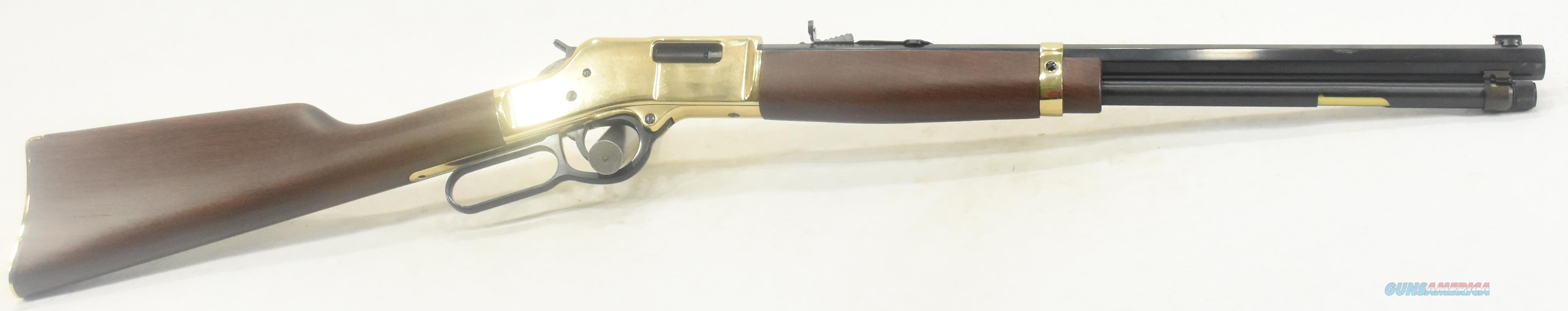 Big Boy Wood 357Mag 20In  H006M  Guns > Rifles > Henry Rifles - Replica