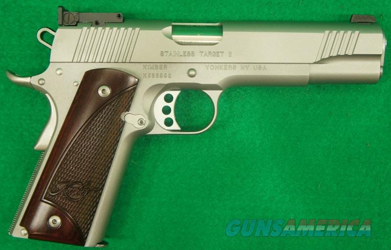 Stainless Target II 45ACP 5In  3000325  Guns