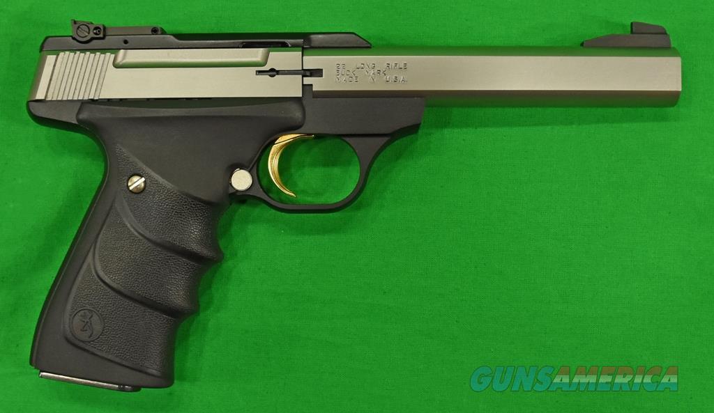 Buck Mark Standard SS URX 22LR 5.5In 051409490  Guns > Pistols > Browning Pistols > Buckmark
