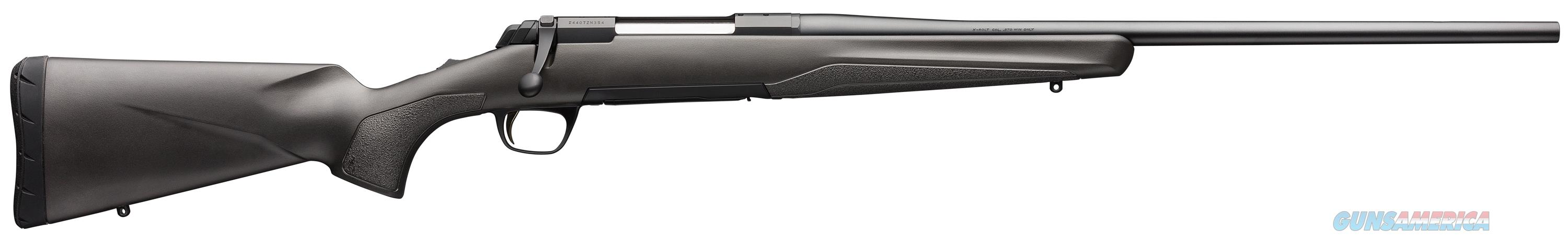 Xbolt Composite Stalker 270Win 22In 035496224  Guns > Rifles > Browning Rifles > Bolt Action > Hunting > Blue