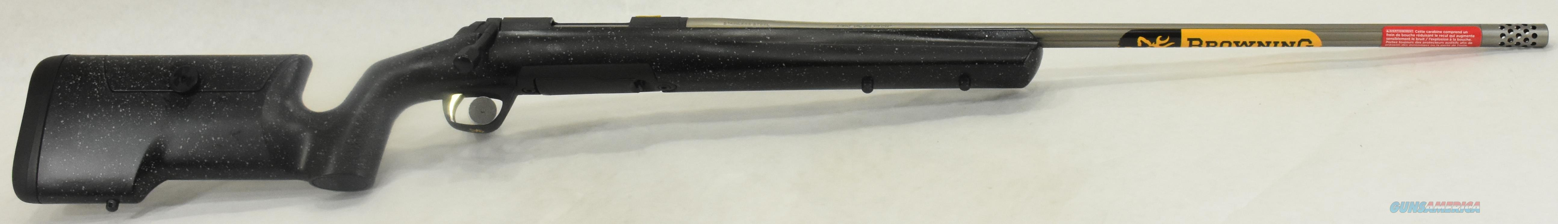 Xbolt MAX Long Range 308Win 26In  035438218  Guns > Rifles > Browning Rifles > Bolt Action > Hunting > Stainless