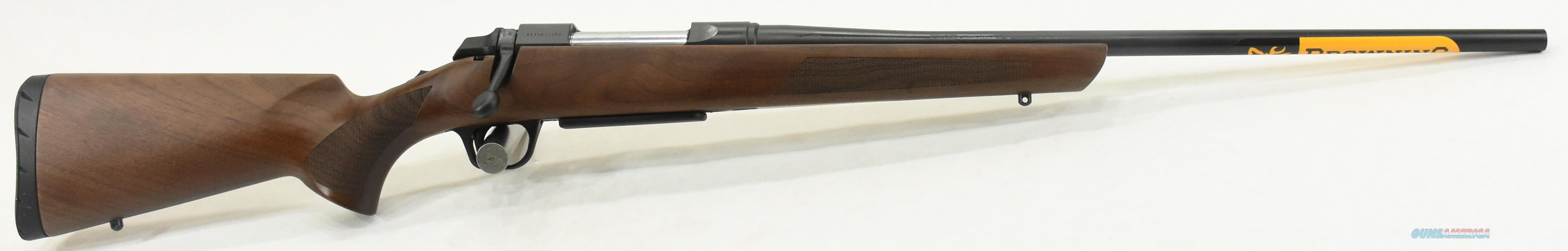 Abolt III Hunter Walunt 6.5CM 22In  035801282  Guns > Rifles > Browning Rifles > Bolt Action > Hunting > Blue