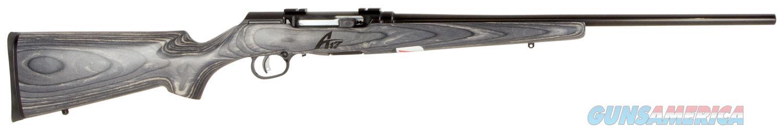 A17 Sporter Lam Blk 17HMR 22In 47008  Guns > Rifles > Savage Rifles > Accutrigger Models > Sporting