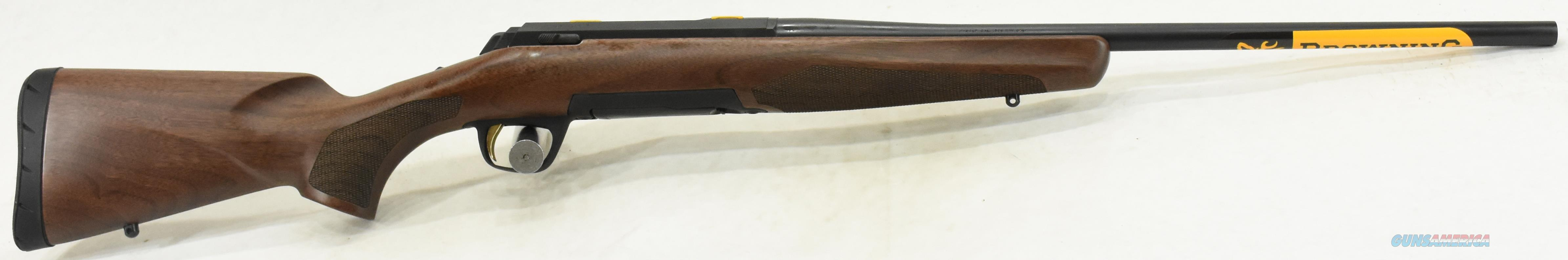 Xbolt Micro Midas Walnut LH 308Win 20In 035279218  Guns > Rifles > Browning Rifles > Bolt Action > Hunting > Blue