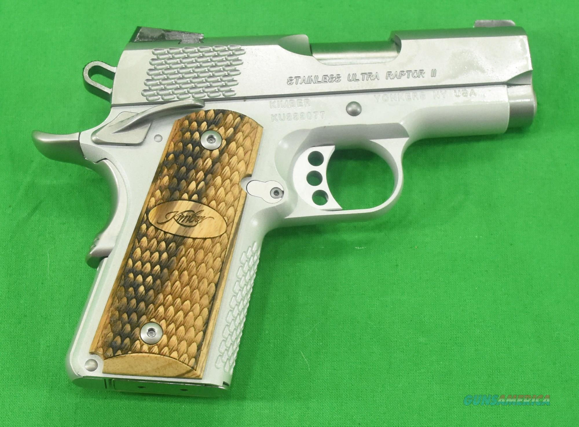 Stainless Ultra Raptor II 45ACP 3In  3000375  Guns