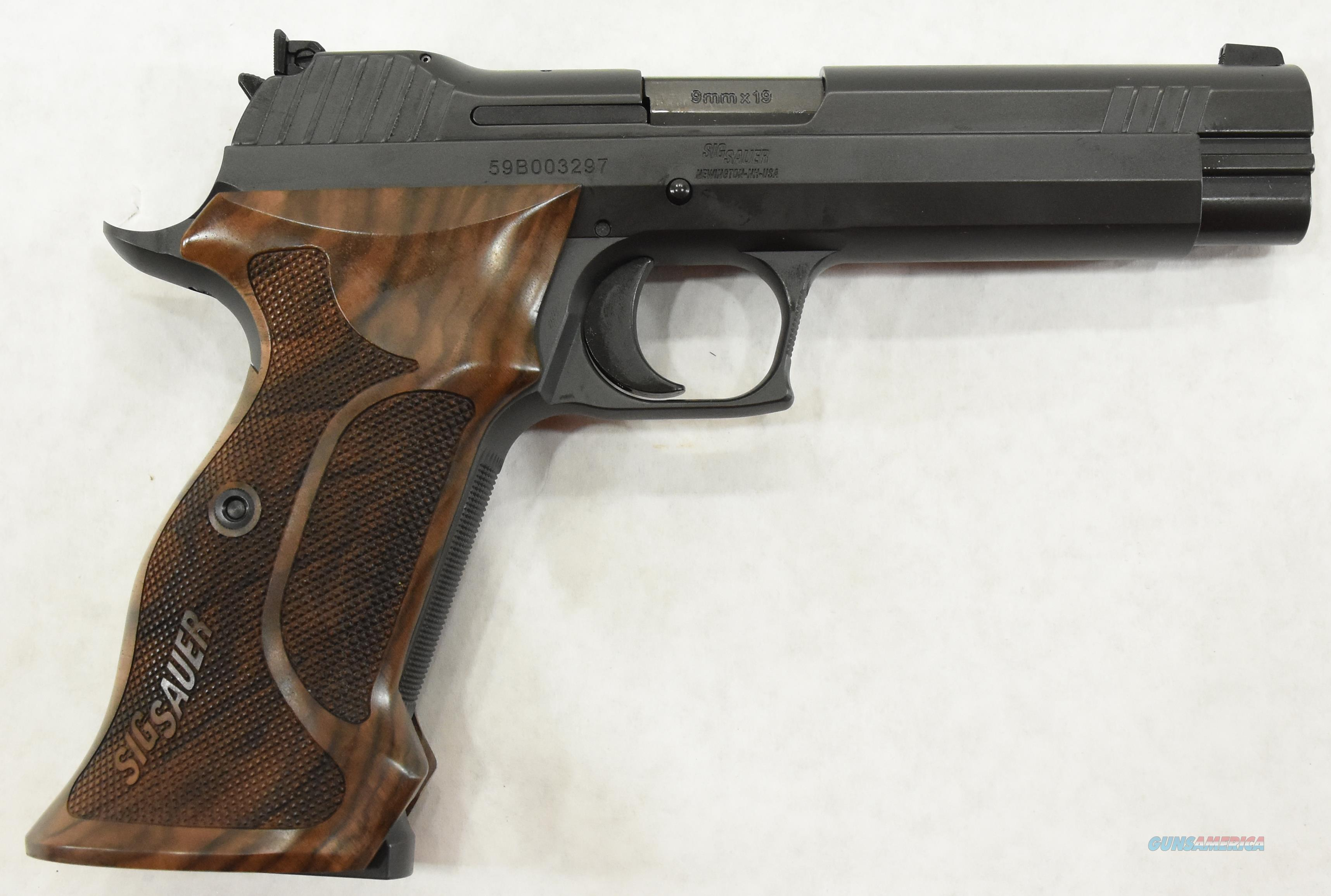 Sig Sauer P210 210 Target 9mm 2 Mags 5In   210A-9-TGT  Guns > Pistols > Sig - Sauer/Sigarms Pistols > Other