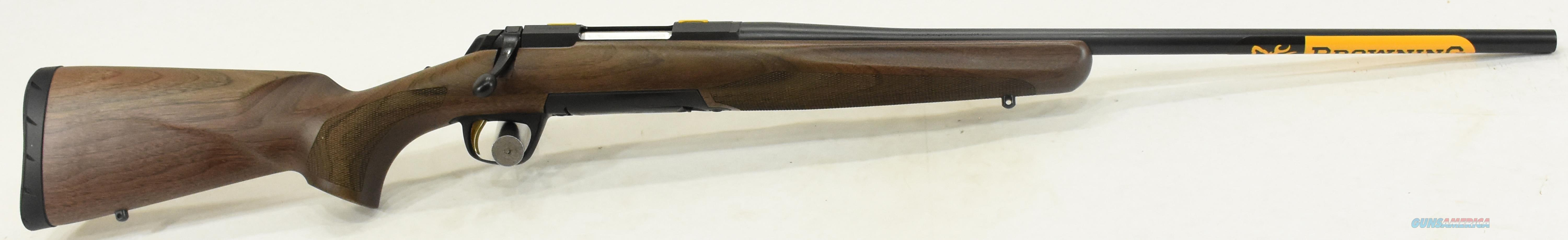 Xbolt Hunter Walnut 6.5CM 22In 035208282  Guns > Rifles > Browning Rifles > Bolt Action > Hunting > Blue