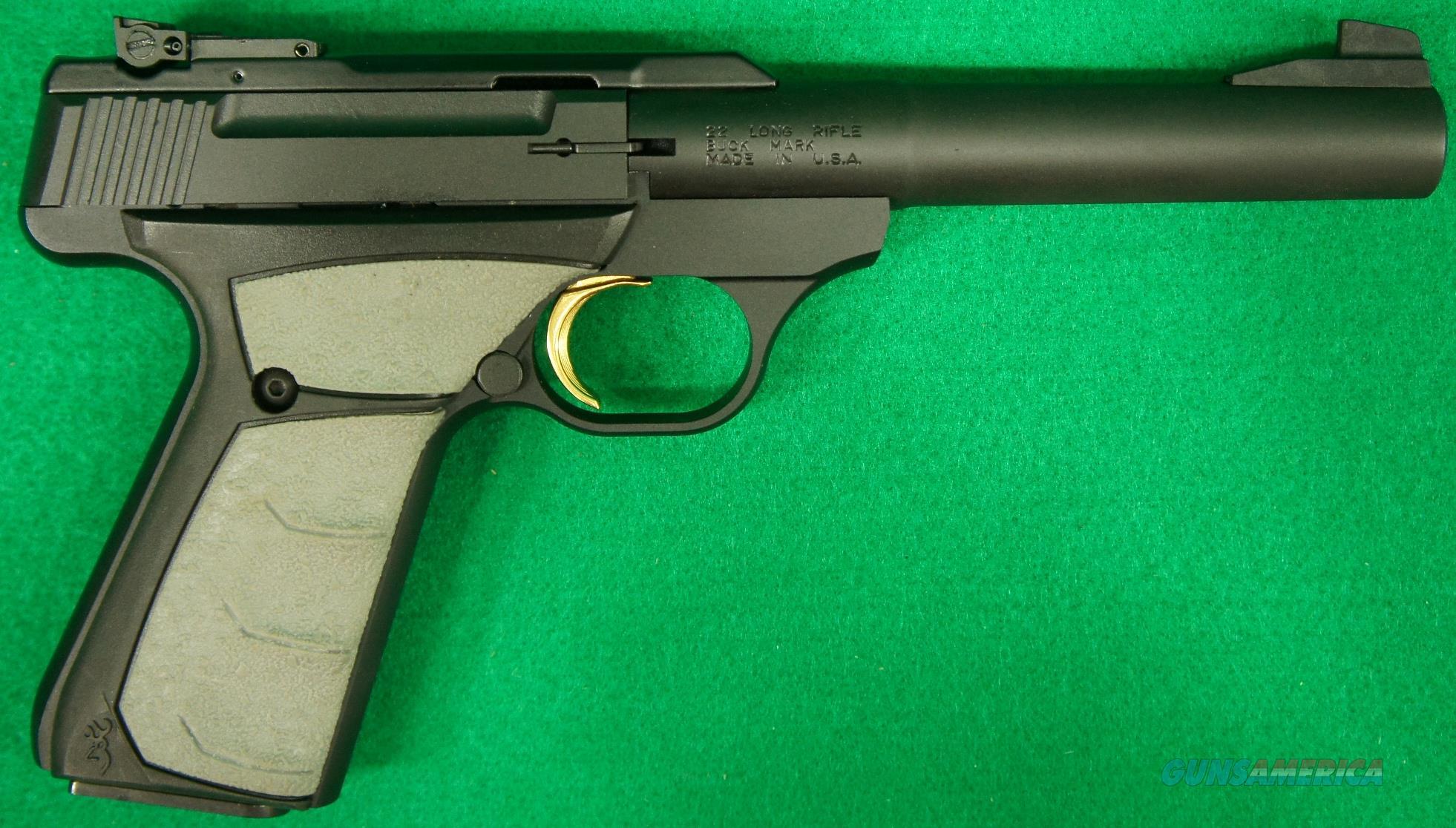 Buck Mark Camper UFX Blk 22LR 5.5In 051498490  Guns > Pistols > Browning Pistols > Buckmark