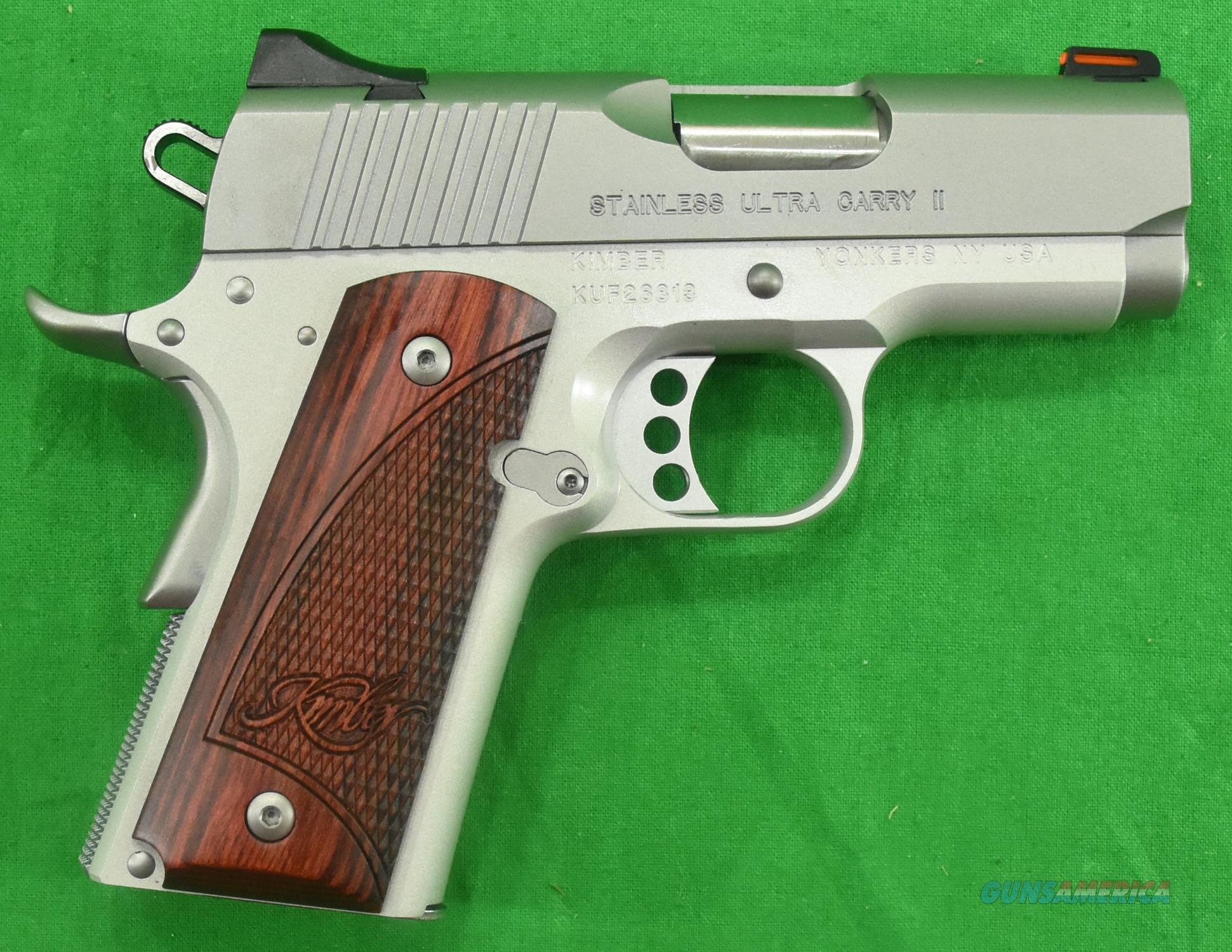Stainless Ultra Carry II 9mm 3In  3000329  Guns