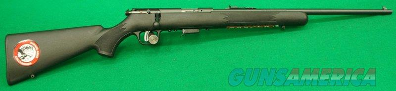 93 F Synthetic Black 22WMR 21In  91800  Guns > Rifles > Savage Rifles > Accutrigger Models > Sporting