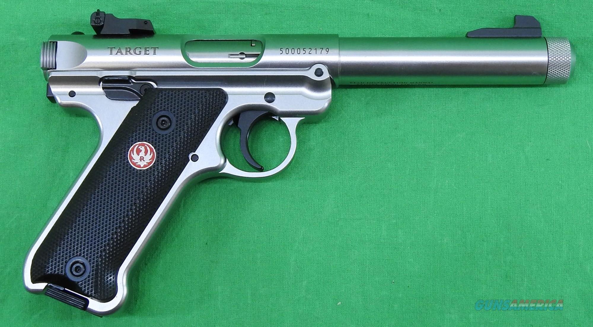 Mark IV Target Stainless 22LR 5.5In  40126  Guns > Pistols > S Misc Pistols