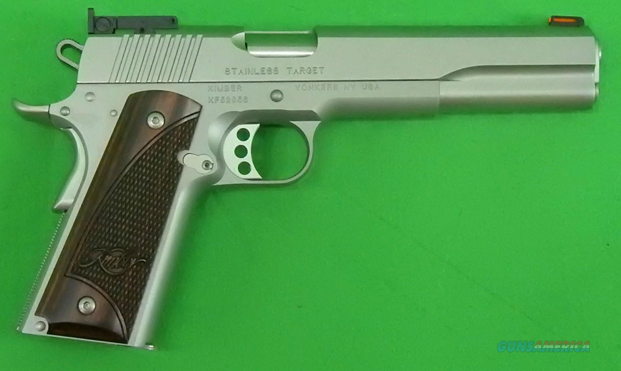Stainless Target Long Slide 10mm 6In  3000372  Guns