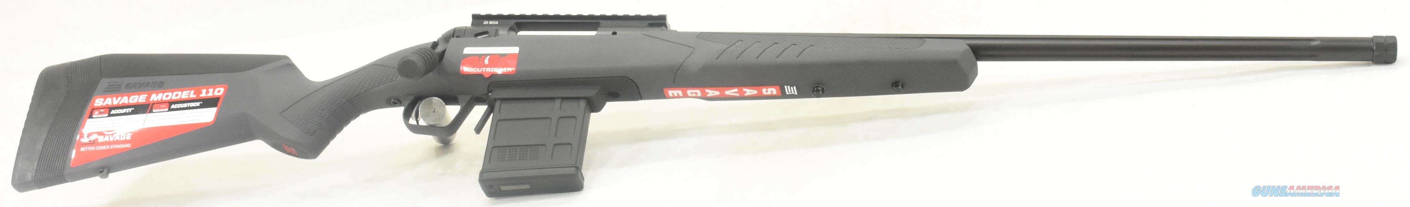 110 Tactical Grey 6.5CM 24In  57232  Guns > Rifles > Savage Rifles > 10/110