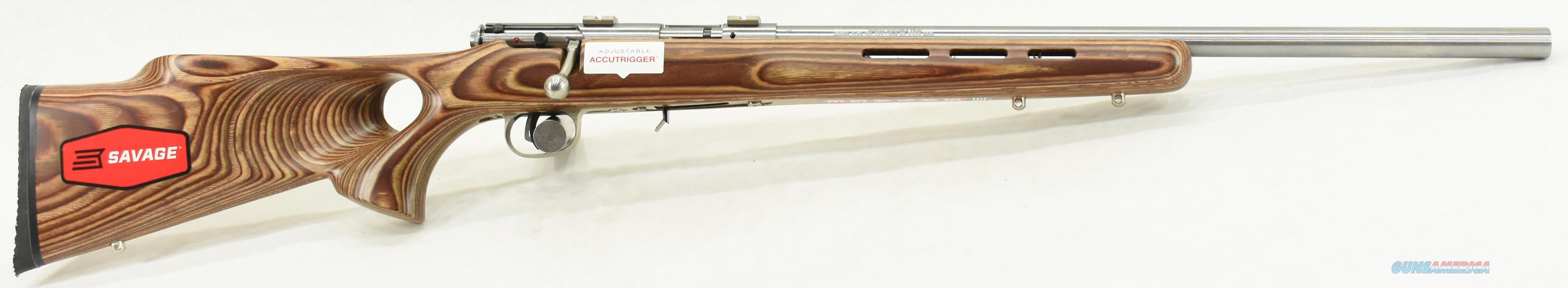 93 BTVS Lam Thumbhole SS 17 HMR 21In  96200  Guns > Rifles > Savage Rifles > Accutrigger Models > Sporting