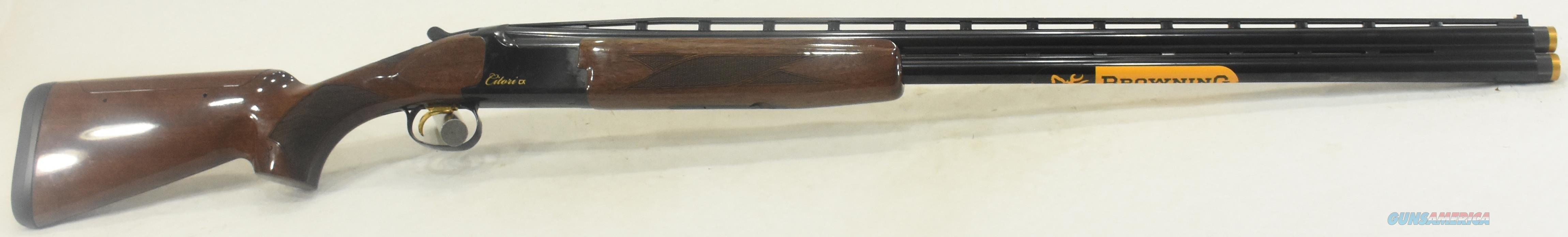 Citori CX Adj 12Ga 32-3In 018111302  Guns > Shotguns > Browning Shotguns > Over Unders > Citori > Hunting