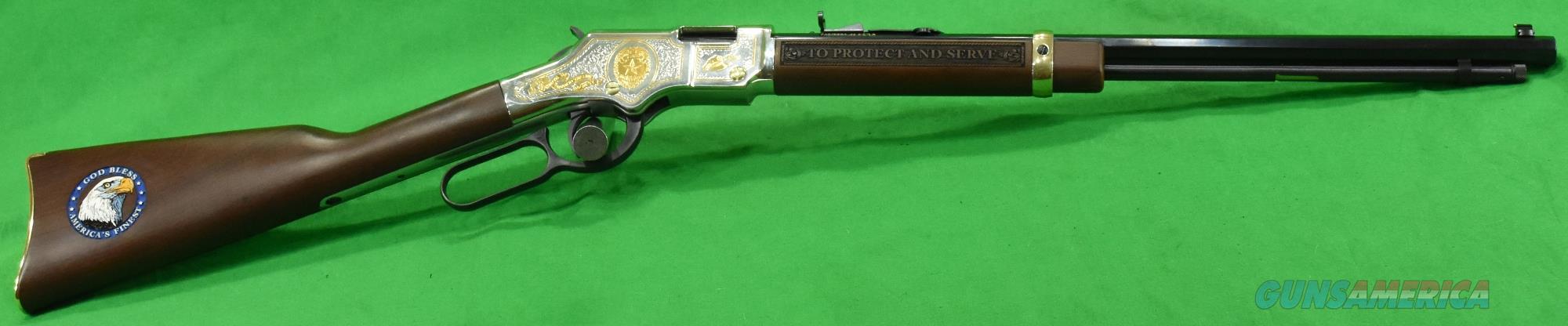 Golden Boy Law Enforcement 22Lr 20In  H004LE  Guns > Rifles > Henry Rifles - Replica