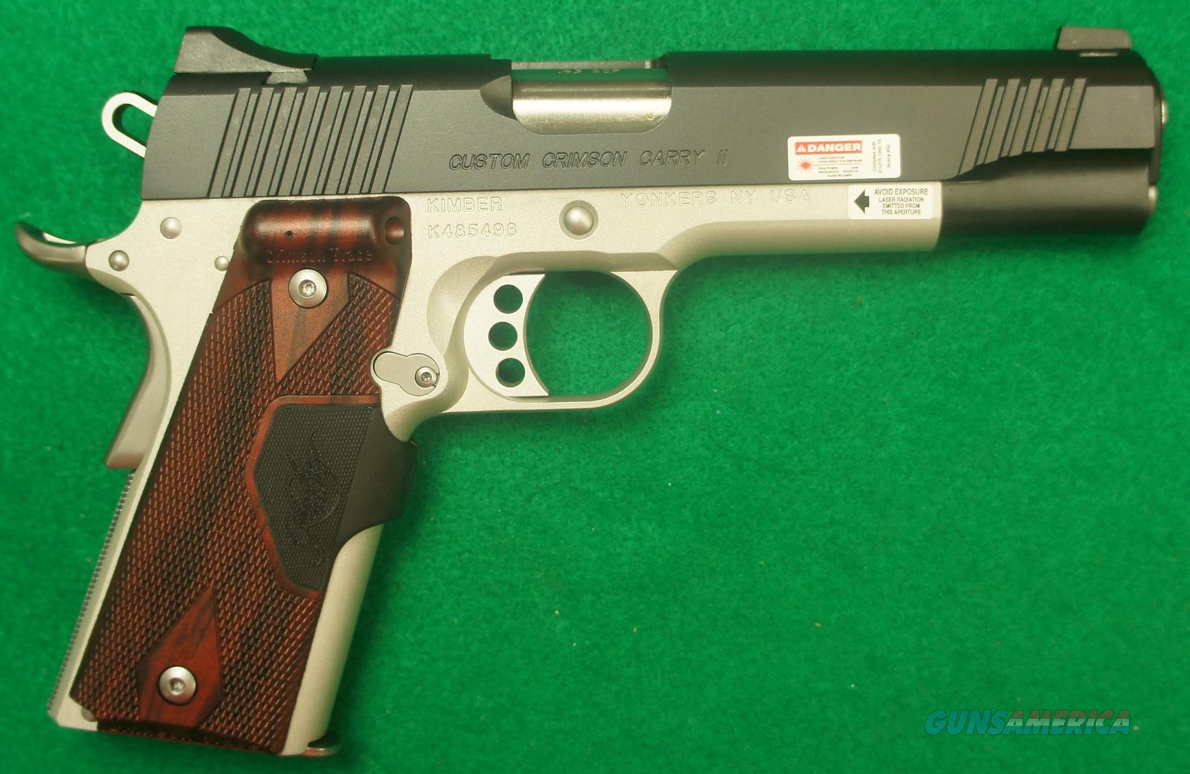 Custom Crimson Carry II 45ACP 5In  3000189  Guns