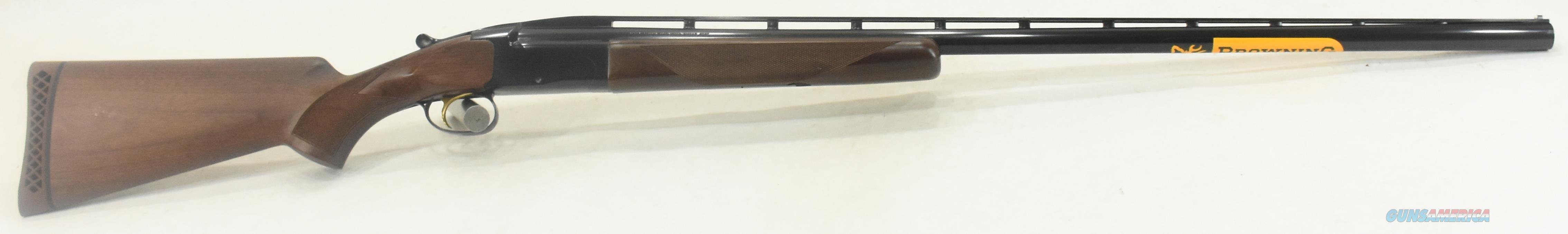 BT99 Walnut 12Ga 34-2.75In 017054401  Guns > Shotguns > Browning Shotguns > Over Unders > Other OU > Trap/Skeet