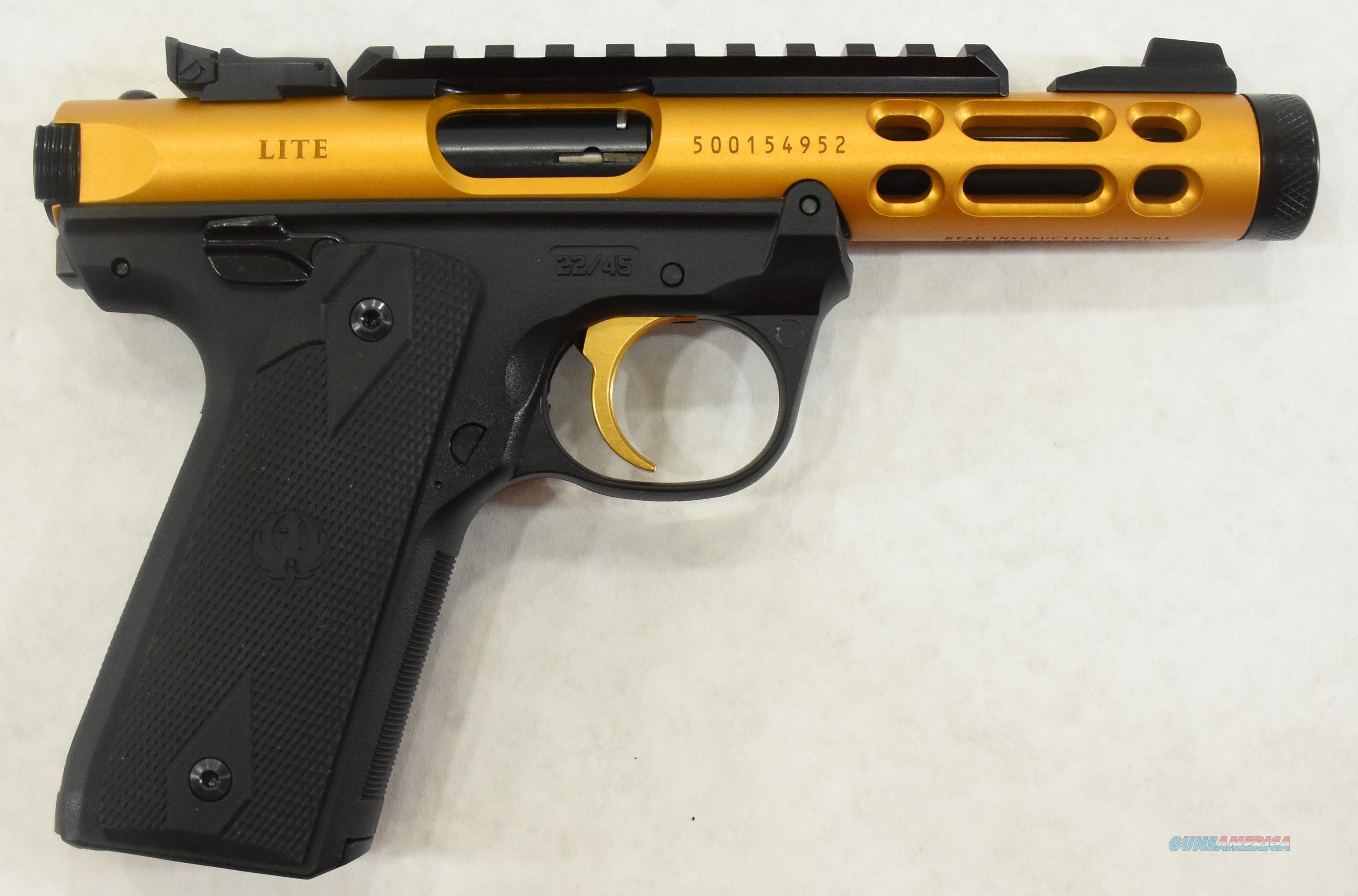 Mark IV 22/45 Lite Gold 22LR 4.4In  43926  Guns > Pistols > S Misc Pistols