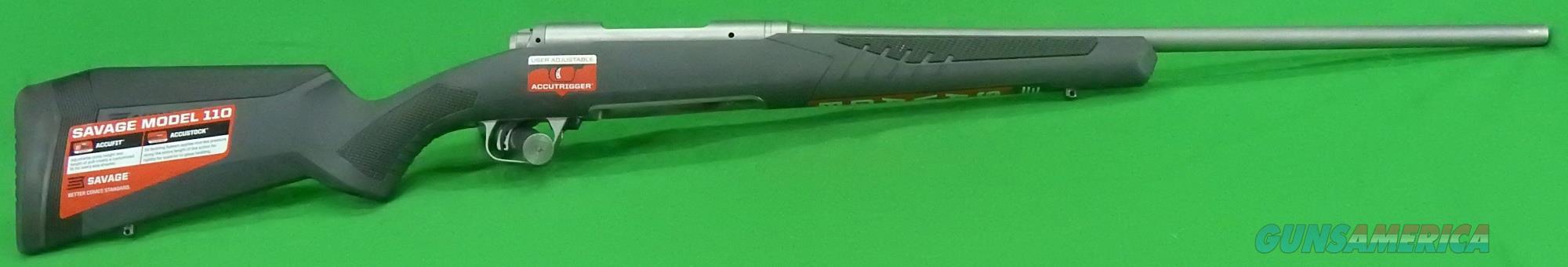 110 Storm Gray Syn LH 300Win 24In  57059  Guns > Rifles > Savage Rifles > 10/110